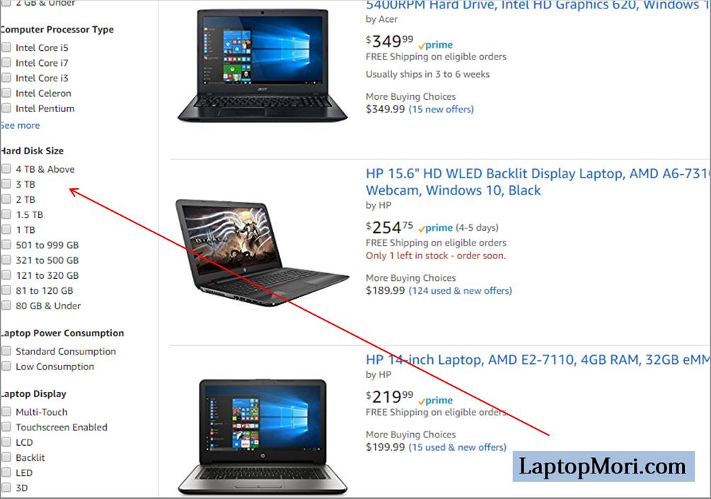 아마존 노트북